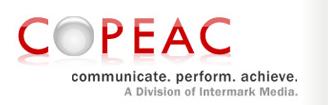 COPEAC Communicate Perform Achieve