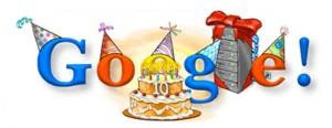 Happy Birthday To Google