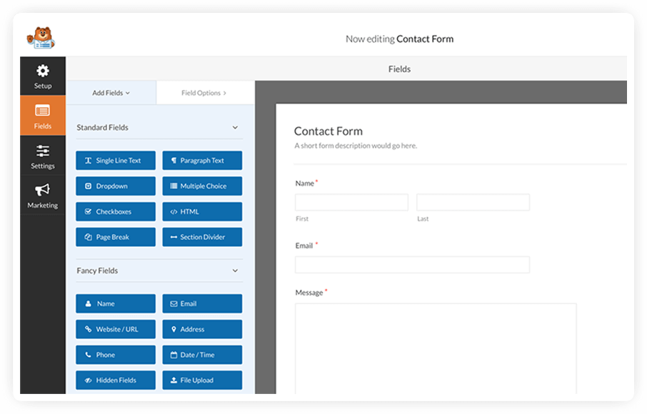 WPForms The #1 Contact Form Plugin For WordPress