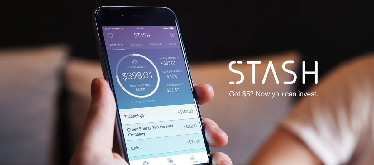 Stash Your Cash With Stash Invest App For IOS & Android