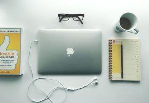 Business Notebook Web Design Computer Office Desk