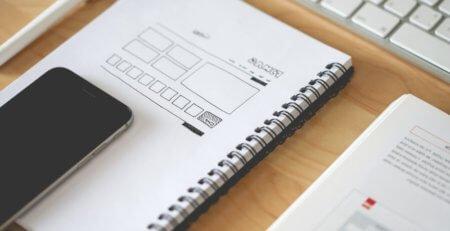 web, design, layout, sketch