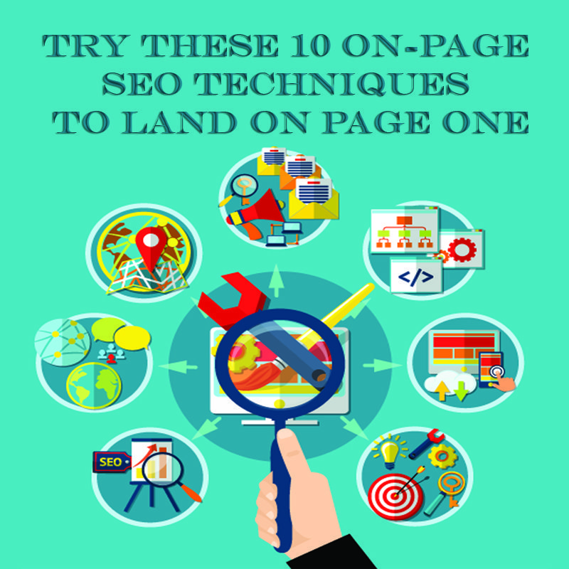 SEO Techniques to Land on Page One